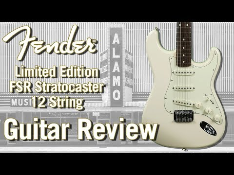 Limited Fender Stratocaster XII 12 String Electric Guitar - Guitar Review