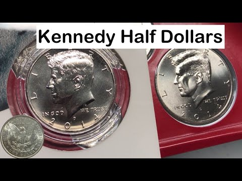 50th Anniversary Kennedy Half-Dollar Uncirculated Coin Set 2014