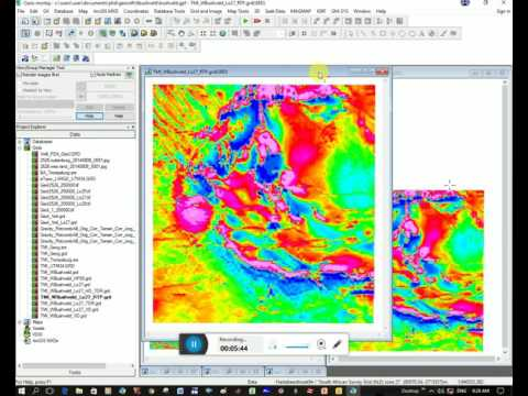 Geosoft - Image Processing of Magnetic Data