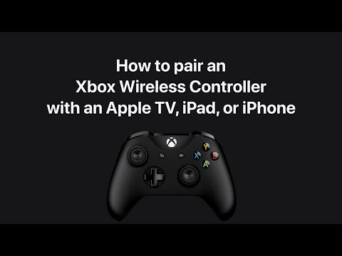 How To Pair An Xbox Wireless Controller With Apple TV, IPad, Or IPhone – Apple Support