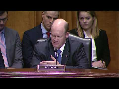 Senator Coons, Senate Foreign Relations Committee Zimbabwe, December 12 2017