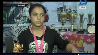 العاشرة مساء| اللاعبة المصرية سارة سمير تحقق برونزية رفع الأثقال في أولمبياد ريو 2016
