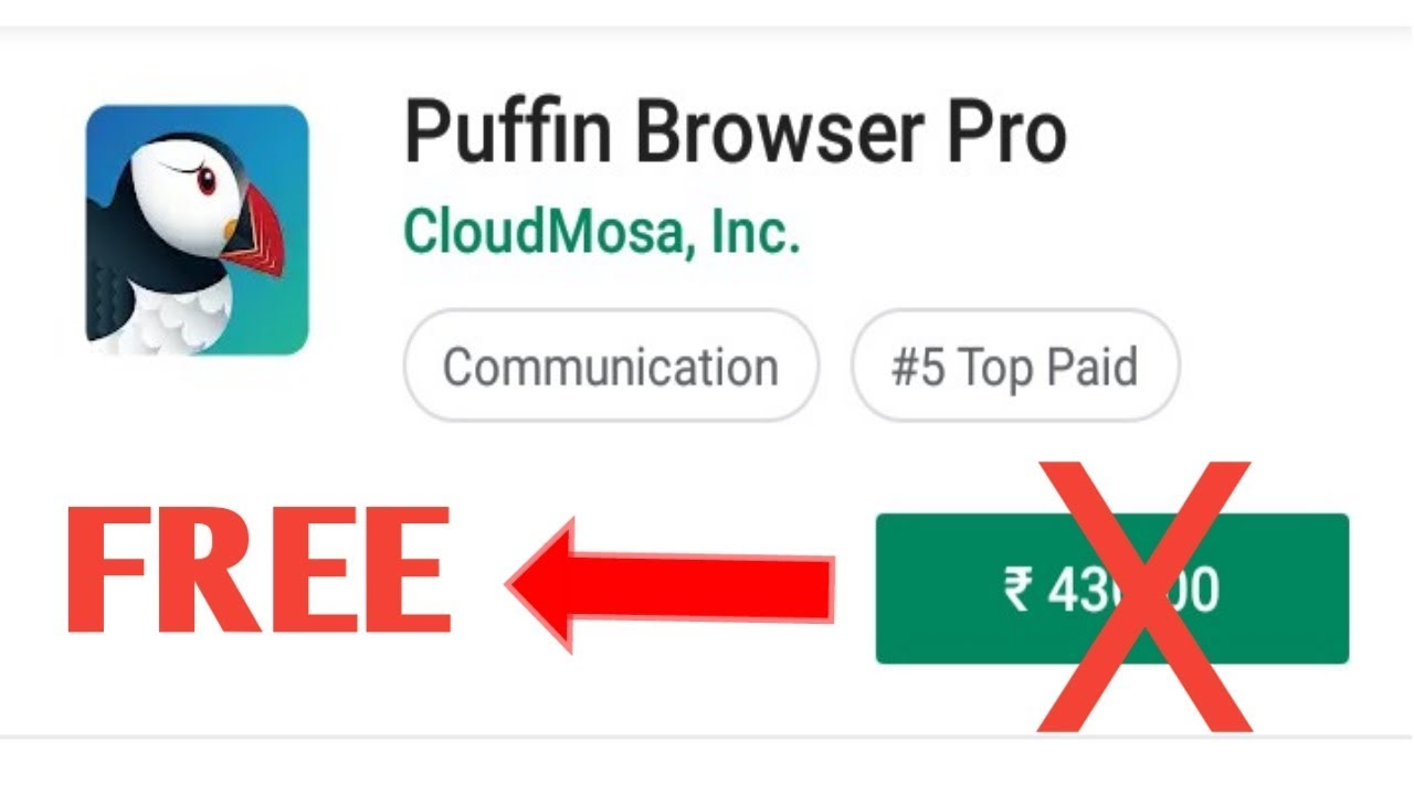 Puffin Browser Pro Free 100% Working 2019