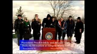 President Preckwinkle and Sheriff Dart Dedicate Monument at Indigent Burial Site