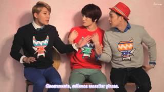 [Sub Español] HD 130308 Entrevista a JYJ por la Campaña Primavera 2013 de NII