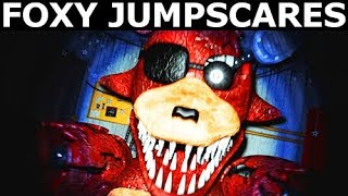 JOLLY 3: Chapter 2 - Rusty Foxy Animatronic Jumpscares (FNAF Horror Game 2018)