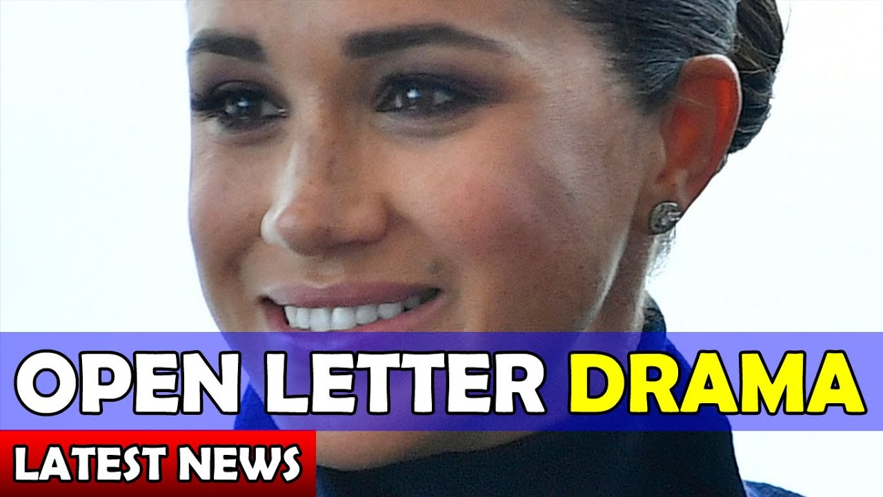 OPEN LETTER DRAMA / Meghan and Harry Latest News