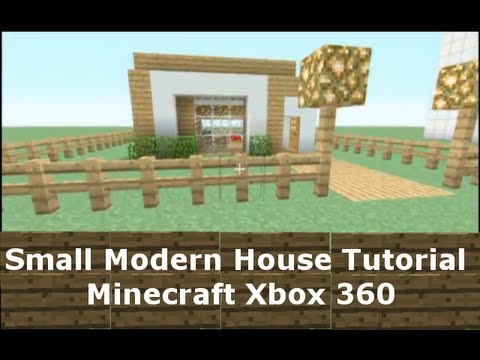 Small modern house tutorial minecraft xbox 360 youtube for Modern house 360