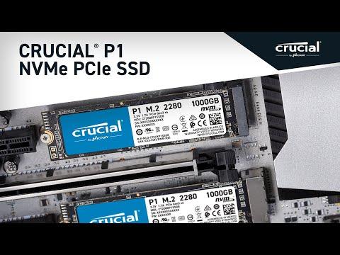 Crucial P1 1TB 3D NAND NVMe PCIe M 2 SSD | CT1000P1SSD8 | Crucial com