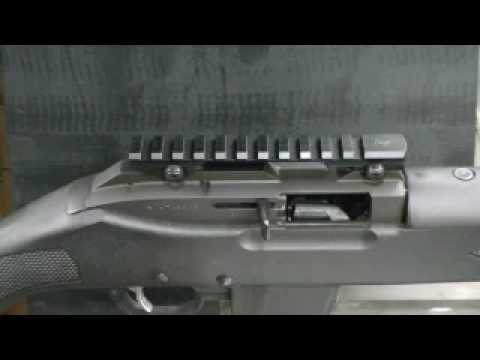 ruger mini 14 ranch scope mount installation weigand youtube