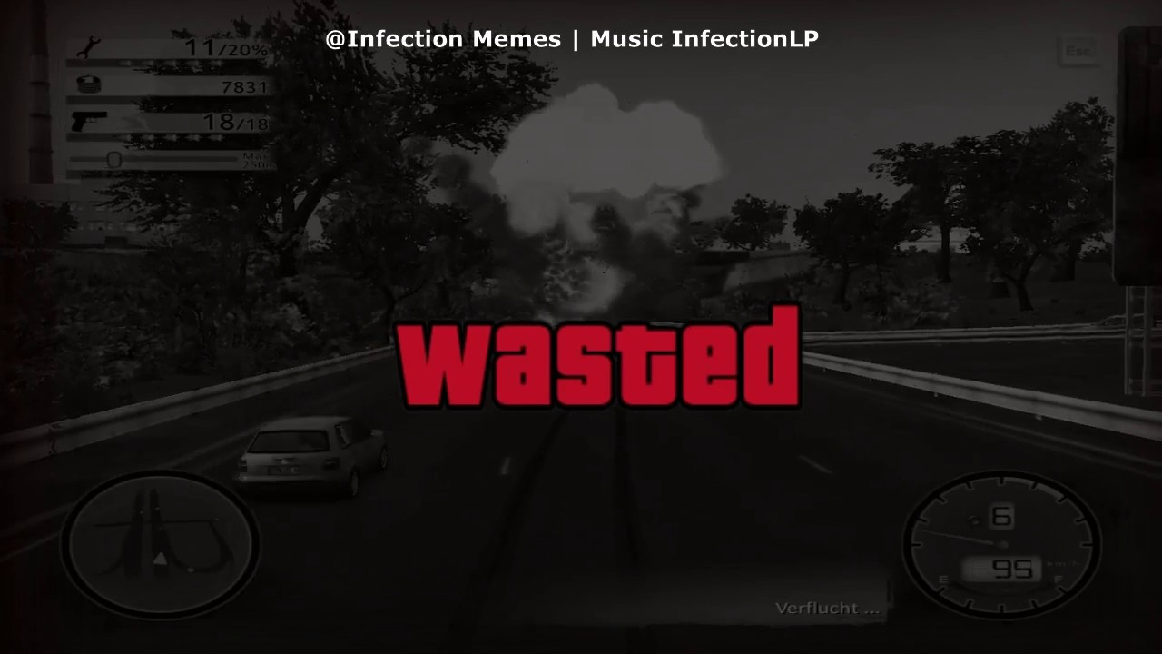 maxresdefault afc11 wasted meme @infection memes music infectionlp youtube