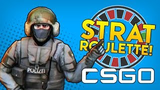 CS:GO STRAT ROULETTE! (Counter Strike Global Offensive Funny Moments & Fails Gameplay)