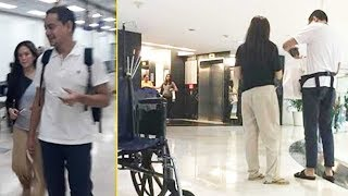 JOHN LLOYD CRUZ sinamahan magpa check-up si ELLEN ADARNA sa hospital!