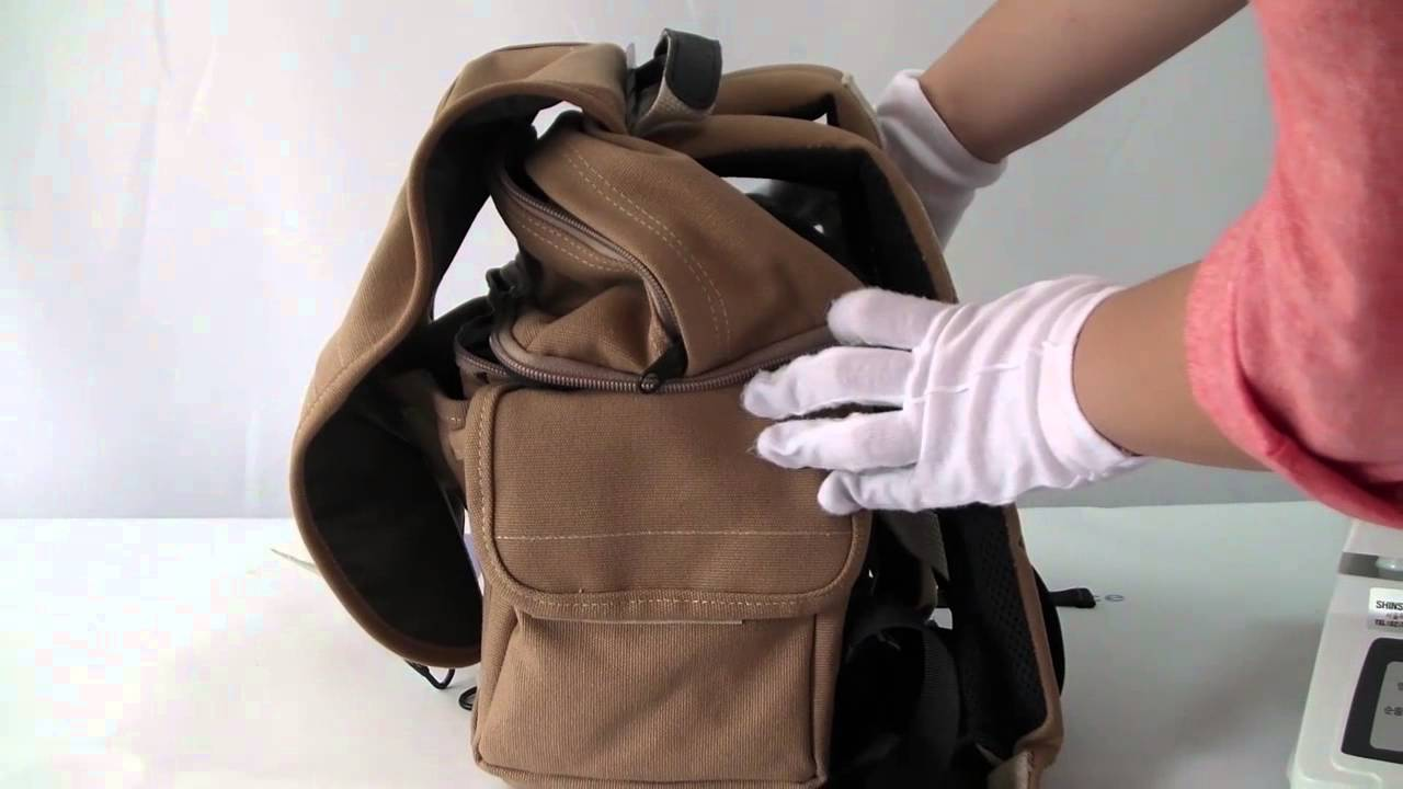 Review Domke F 3 Backpack Sand Features Cotton Canvas
