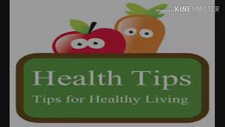 Healthy tips for lifestyle