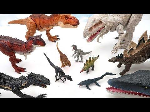 Jurassic World Dinosaur Transformer Big To Small! Dinosaur Toys For Kids 공룡 망치 마법