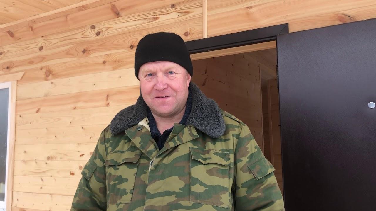 Каркасный дом 6х8 «Скандинавия-15», - Отзыв клиента