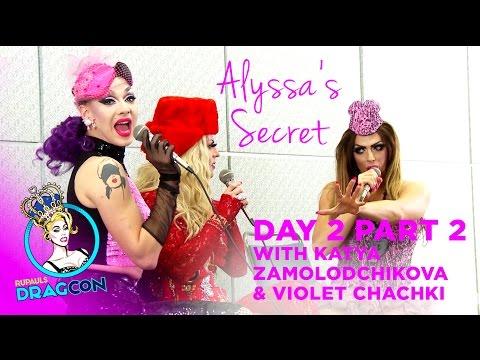 Alyssa Edwards&39; Secret w Violet Chachki & Katya - Day 2 Part 2 at RuPaul&39;s DragCon