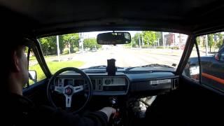 Fiat 131 Testdrive with new setup
