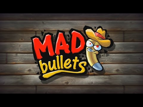 Mad Bullets - iOS / Android - HD (Sneak Peek) Gameplay Trailer