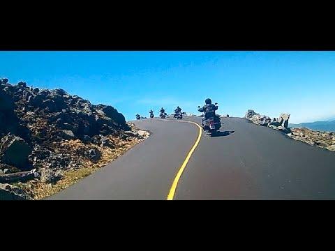"Laconia bike week ""17 ... Ride to Mt. Washington N.H."