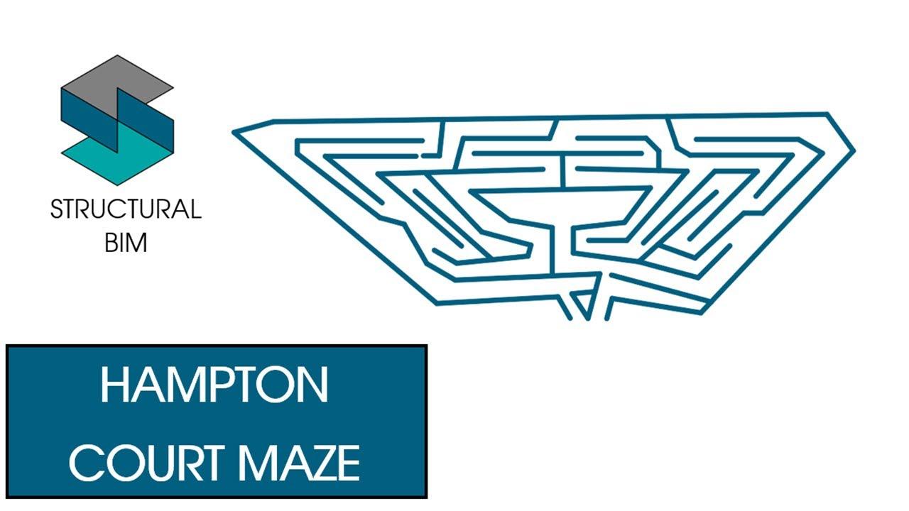 Solving Hampton Court Maze in Revit 2020