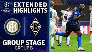 Internazionale vs. Mönchengladbach:  Extended Highlights   UCL on CBS Sports