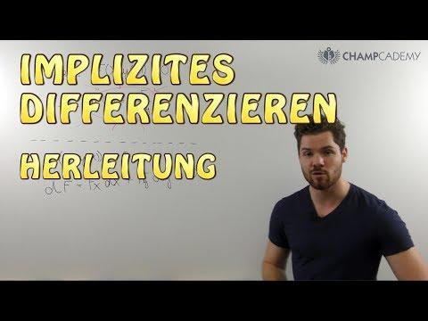 Implizites Differenzieren: Bedeutung + Herleitung Einfach Erklärt!