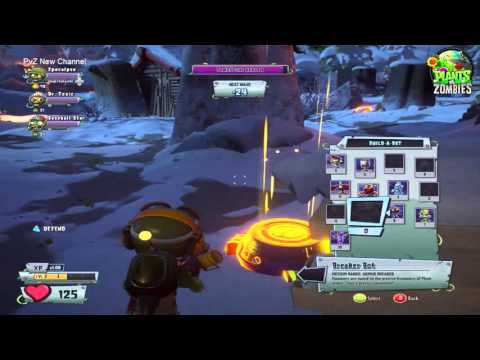 Plants vs Zombies Garden Warfare 2  Grave Yard Ops Frosty Creek   Tank Commander