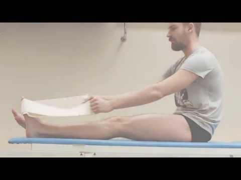 Лечебная гимнастика при пяточной шпоре, упражнения + видео