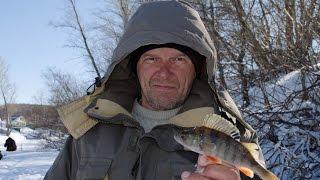 Зимняя рыбалка  Озеро Узеть  Март 2016 г