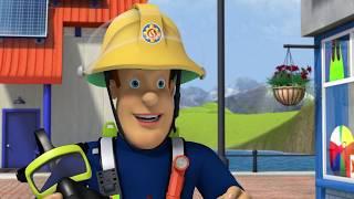 Счастливый Пожарный! | Пожарный Сэм ⭐️Компиляция | Мультфильмы для детей