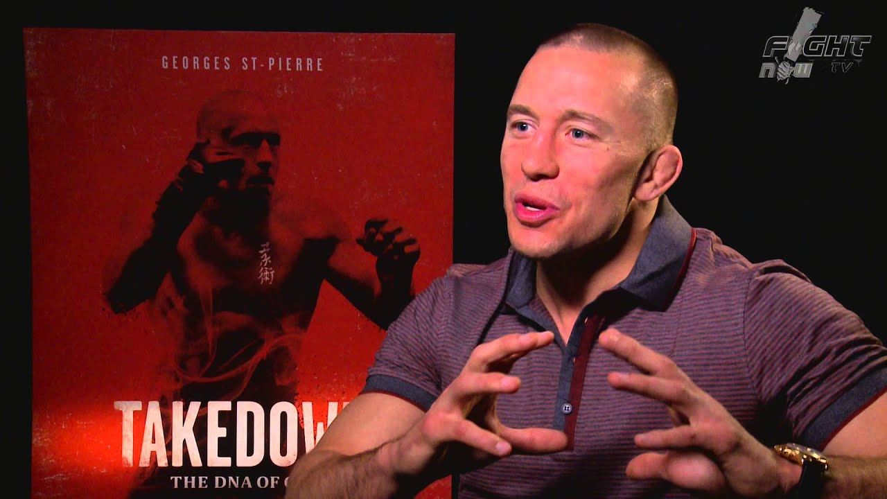 Download Georges St-Pierre discusses Takedown: The DNA of GSP and Captain America: The Winter Soldier