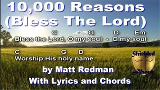 10,000 Reasons (Bless The Lord) - Matt Redman Song with lyrics and chords