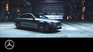 The new E Class  On a perfect mile – Mercedes Benz original