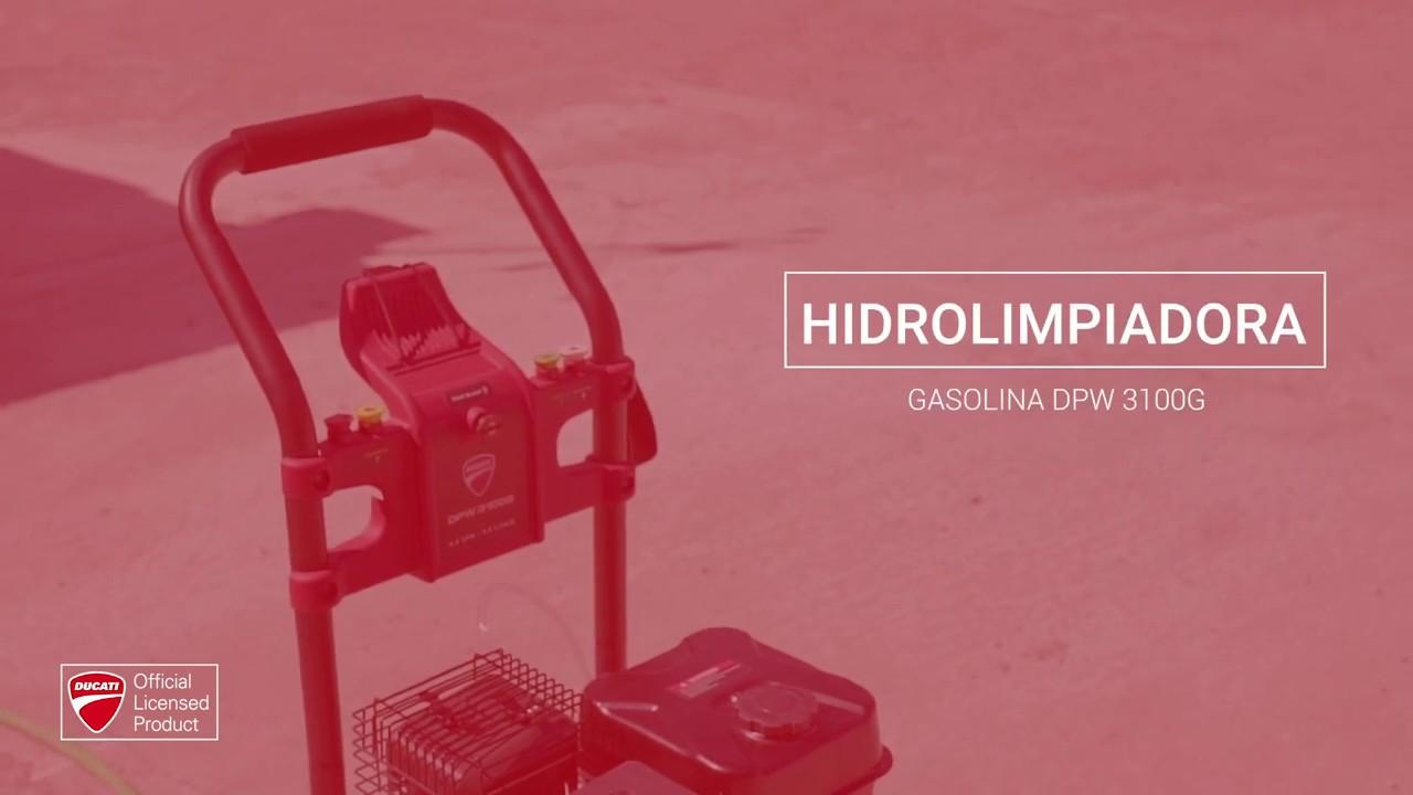 Hidrolimpiadora de gasolina Ducati DPW 3100G