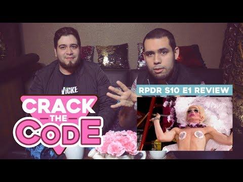 RuPaul's Drag Race S10   EP 1 Análisis - Crack The code