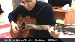 Đệm hát điệu Bolero - Lớp gia sư dạy guitar tại Hà Nội (Tạ Từ Trong Đêm)
