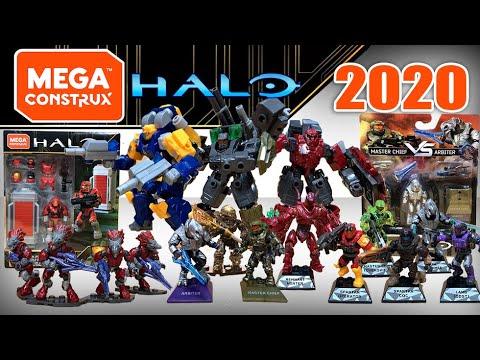 Halo mega construx set of 4