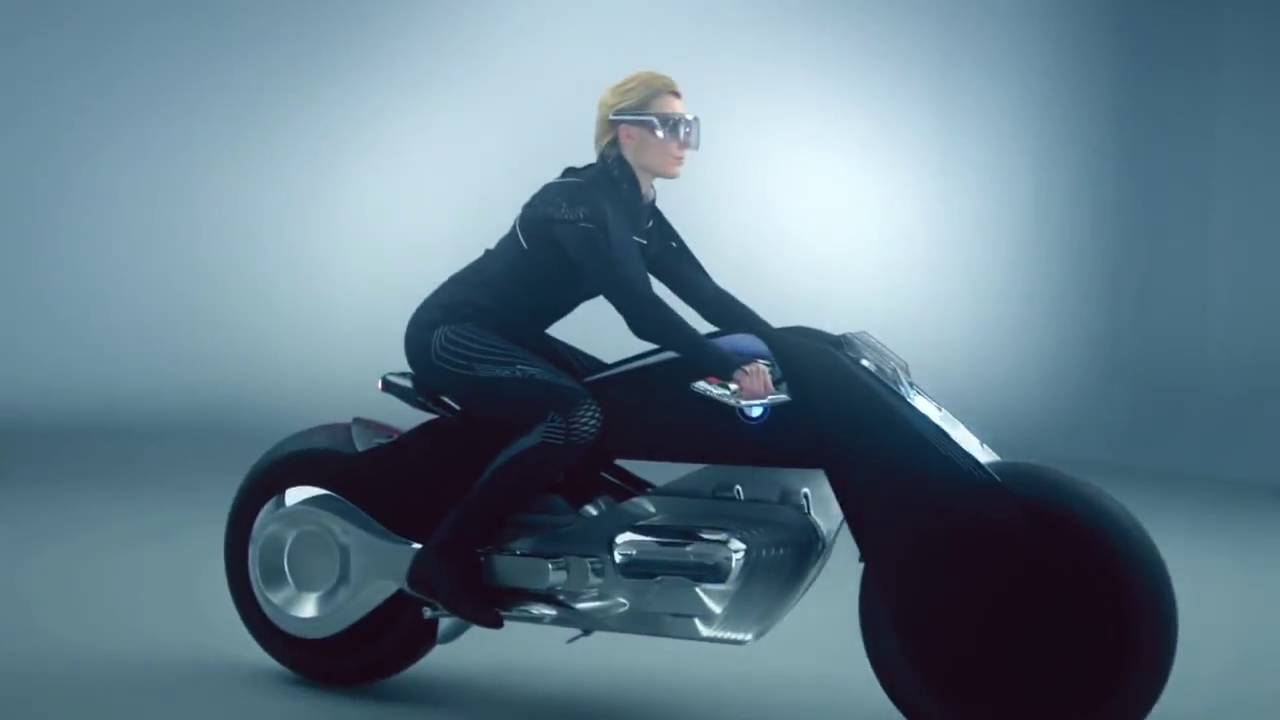 bmw prototype autonomous self-balancing motorcycle - youtube