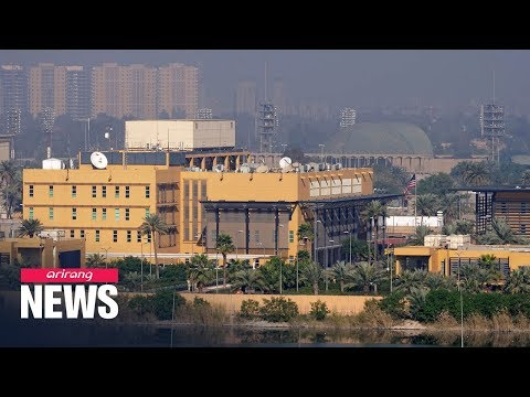 Small rockets land in Baghdad's heavily fortified Green Zone