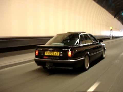 audi 90 quattro north wales in the tunnels youtube. Black Bedroom Furniture Sets. Home Design Ideas