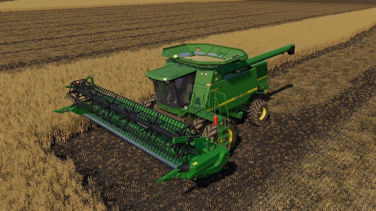 Farmersburg Ep#15 | Harvest, Lime | FS19 Timelapse | Farming Simulator 19 Timelapse
