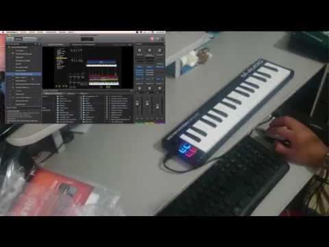 REVIEW - M AUDIO - Keystation Mini 32 - MAIN STAGE 3 - ESPAÑOL