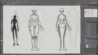 Рисование персонажей (урок #4) | Как рисовать женскую фигуру(Группа ВК: http://vk.com/inspired_drawing Скидываемся на новые переводы: http://www.inspired-drawing.com/pomoshh-sajtu Оригинальное видео:..., 2014-04-17T12:46:56.000Z)