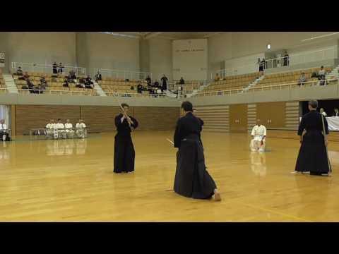 第43回全日本杖道大会 7段の部 決勝戦