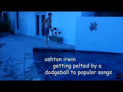 Ashton Irwin Getting Hit With A Dodgeball To Popular Songs