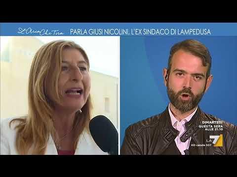 Borgonovo vs Giusy Nicolini, Lampedusa: 'Si è fatta pubblicità grazie all'invasione'