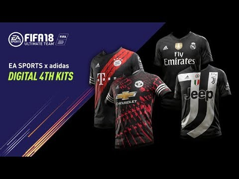 more photos ee852 8977e FIFA 18 | Exclusive Digital 4th Kits ft. Manchester United, Real Madrid  C.F., Juventus, FC Bayern