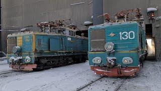 Замёрз тяговый агрегат ОПЭ1-АМ-130. Решение проблемы
